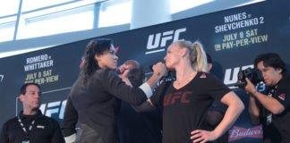 UFC 213 Nunes vs. Shevchenko