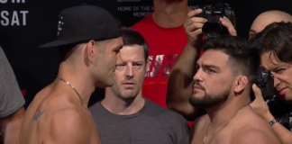Chris Weidman Kelvin Gastelum UFC on Fox 25 (UFC Long Island)