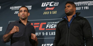 UFC 213 Alistair Overeem Fabricio Werdum
