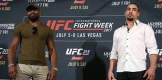 UFC 213 Yoel Romero Robert Whittaker
