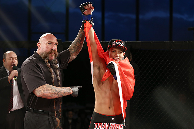 UFC Mexico City Humberto Bandenay