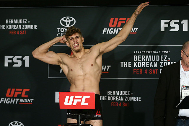 UFC Mexico City Niko Price