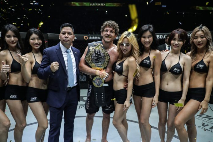 MMA ONE Championship: Shanghai Ben Askren