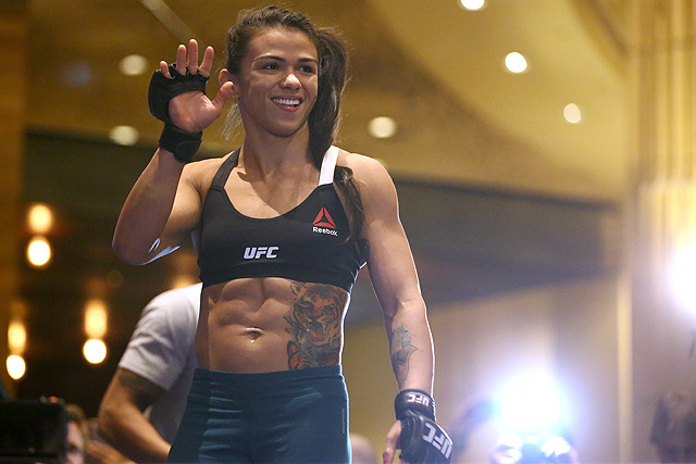 Claudia Gadelha is set to face Jessica Andrade at UFC Fight Night 117
