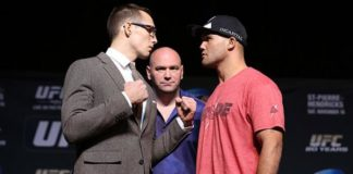 Robbie Lawler and Rory MacDonald, UFC