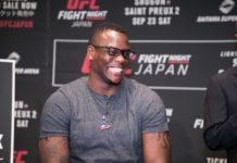 Ovince Saint Preux UFC Saitama (UFC Fight Night 117)