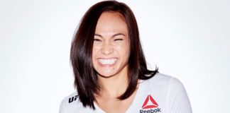 Michelle Waterson Reebok UFC outfit