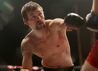 Rick Glenn appeared at UFC 215