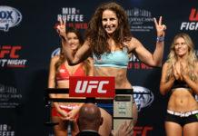 UFC 215 Sarah Moras