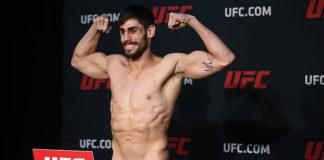 Antonio Carlos Junior was victorious at UFC Sao Paulo