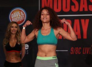 Bellator 185 Lisa Blaine