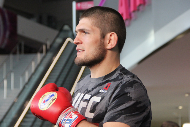 Khabib Nurmagomedov Officially Booked for Return Fight at UFC 219