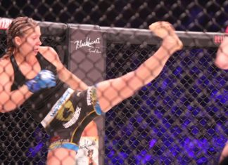 Bellator 185 Kristina Williams defeated Heather Hardy at Bellator 185