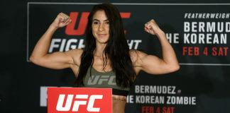 UFC 218 Tecia Torres Michelle Waterson
