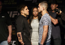 Henry Cejudo Sergio Pettis rebooked for UFC 218