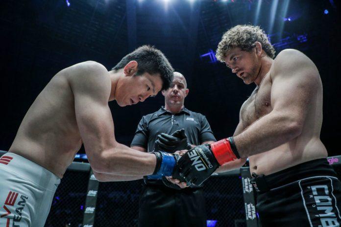 Ben Askren vs. Shinya Aoki at ONE Championship: Immortal Pursuit