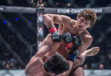 Ben Askren and Shinya Aoki, ONE Championship
