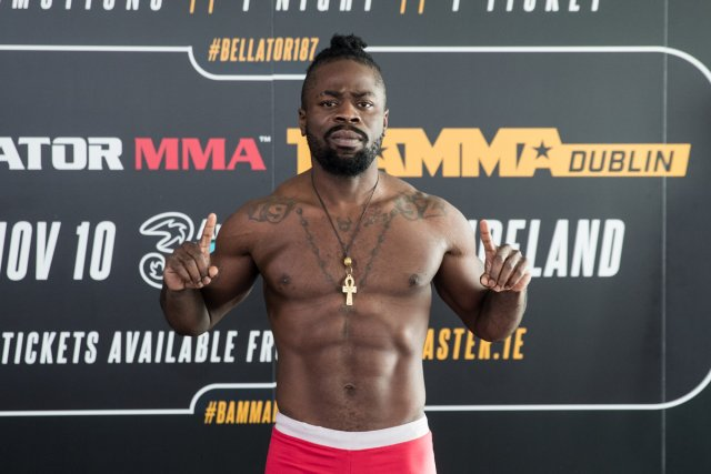 Baby Slice aka Kevin Ferguson Jr at Bellator 187