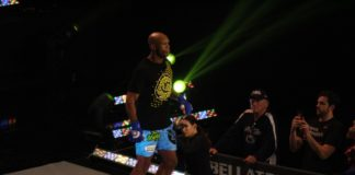 Linton Vassell at Bellator 186