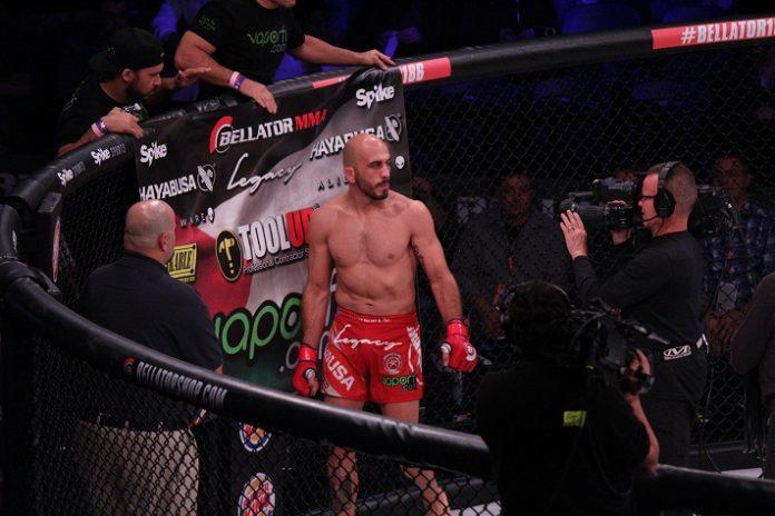 Saad Awad Bellator MMA