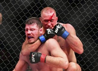 UFC 217: Georges St. Pierre chokes out Michael Bisping