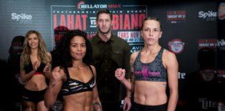 Denise Kielholtz vs. Jessica Middleton Bellator 188