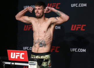 UFC Sydney Tim Means