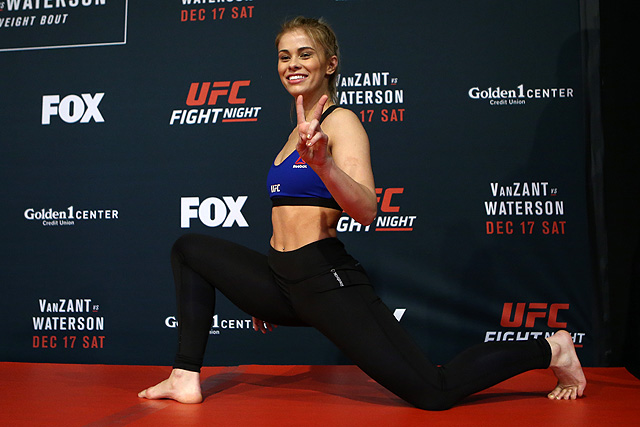 Paige VanZant UFC St. Louis Jessica-Rose Clark