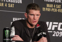 UFC welterweight Stephen Thompson