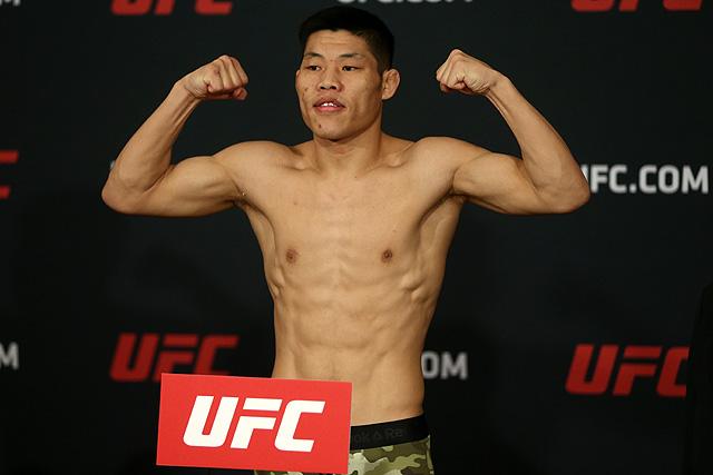 UFC Shanghai Li Jingliang
