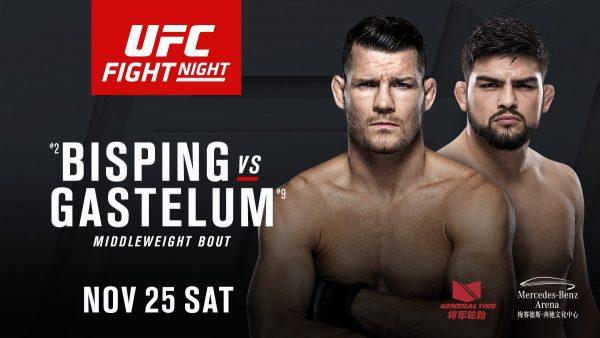 UFC Shanghai Kelvin Gastelum Michael Bisping