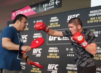 UFC 219 Khabib Nurmagomedov