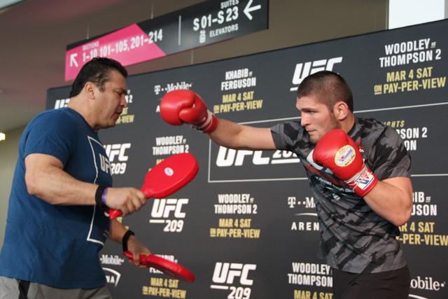 UFC star Khabib Nurmagomedov eyes champion vs champion showdown with featherweight king