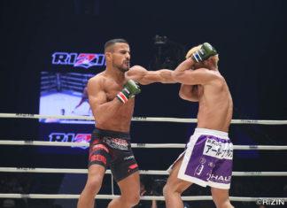 UFC 236 Khalid Taha Boston Salmon