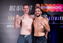 Michael McDonald and Peter Ligier, Bellator 191
