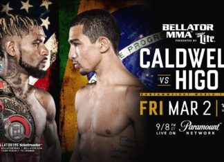 Bellator 195 Darrion Caldwell vs. Leandro Higo