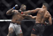 UFC 218 Francis Ngannou, Alistair Overeem