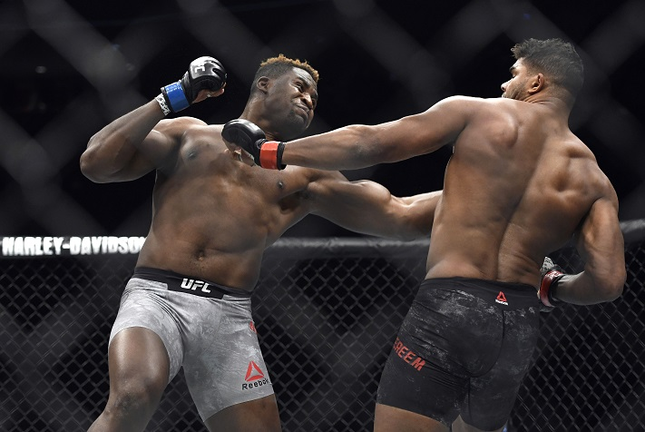 UFC 222: Francis Ngannou Expecting to KO Stipe Miocic