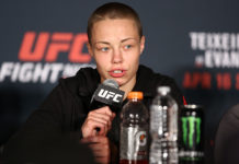 UFC Rose Namajunas female fighter of the year