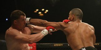 Trevin Giles (pictured) featured on the UFC Fresno fight pass preliminary card