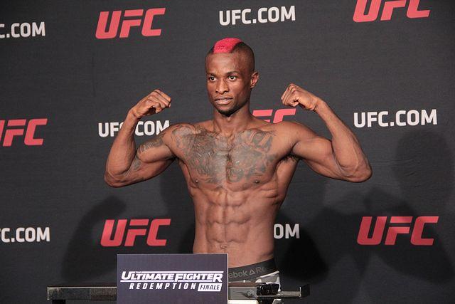 UFC 219 Marc Diakiese UFC London