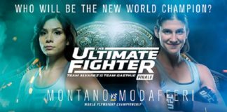 UFC: TUF 26 Finale Nicco Montano Roxanne Modafferi