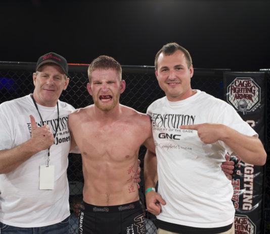 Austin Arnett will debut at UFC on FOX 27 (UFC Charlotte)