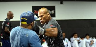 UFC Charlotte Jacare Souza Derek Brunson