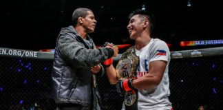 Geje Eustaquio and Adriano Moraes ONE Championship: Global Superheroes