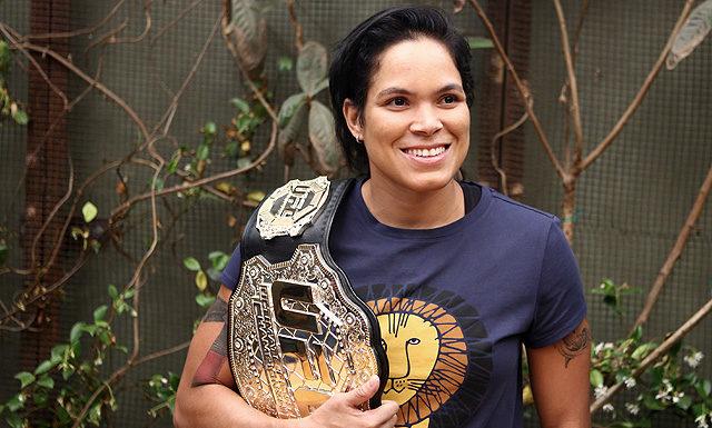UFC bantamweight champion Amanda Nunes