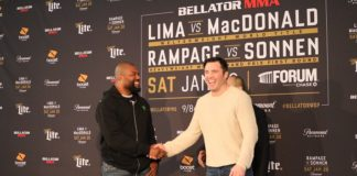 Bellator 192 - Chael Sonnen and Rampage Jackson