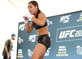 Jessica Eye UFC - Eye was looking to save her job at UFC St. Louis