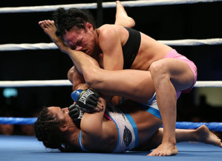 Maia Stevenson makes her promotional debut at UFC Belem