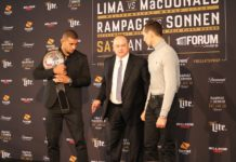 Bellator 192 Rory MacDonald and Douglas Lima